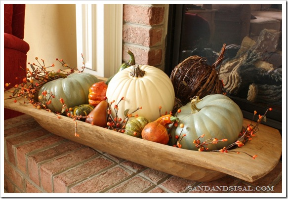 Dough Bowl Pumpkins