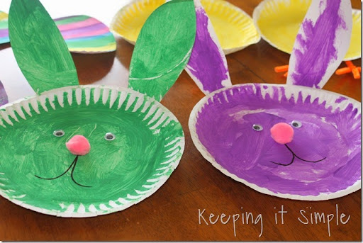 Easter Kid Craft Ideas Part - 23: ... Paper-plate-Easter-Kids-Crafts (14)