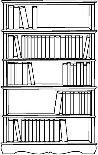 Dibujos Para Colorear De Bibliotecas Infantiles