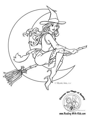 linda-bruxa-colorir-halloween-pretty-witch-coloring-pages