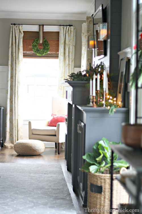 holiday home tour @thriftydecorchick