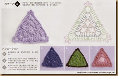 crochet triangle twenty-four