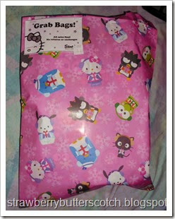 sanrio grab bag