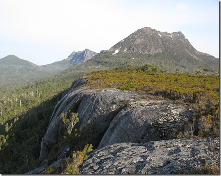 Gould & Guardians from Sandstone Cliffs