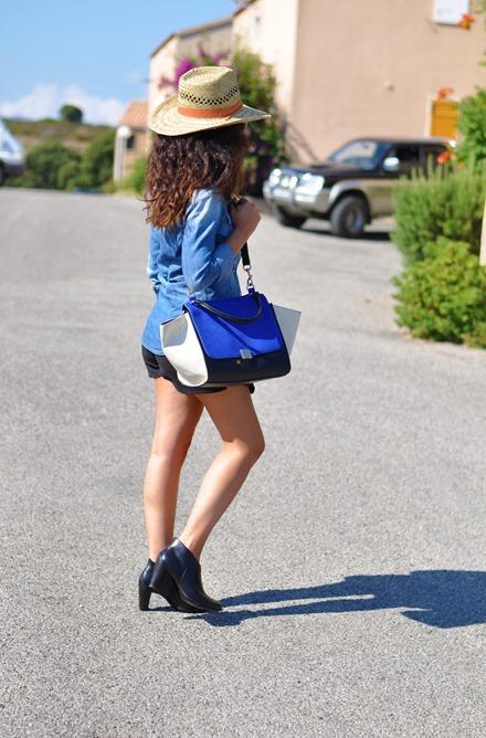 outfit, corsica, summer 2013, australian hat, capelli ricci, cowgirl, cowboy,  fashion bloggers, street style, zagufashion, valentina coco