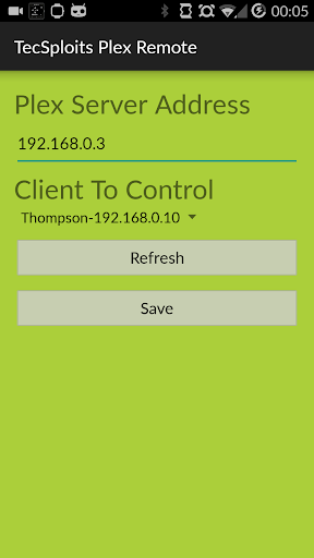 Android Wear Plex Remote