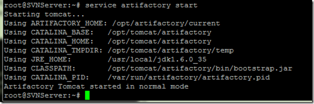 Pranab's scrapbook: Installing Artifactory 2 3 3 with Tomcat and MySQL