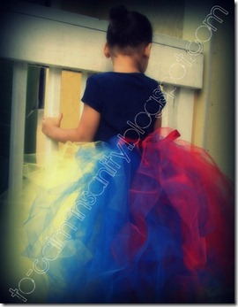 tutu back snow white