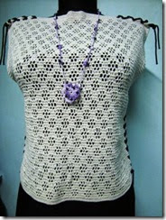 crochet top and accessory 5