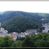 Panaroma von Karlovy Vary