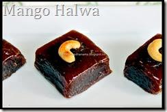 Microwave Mango Halwa