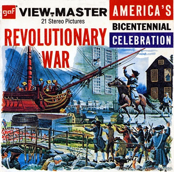 ViewMaster The Revolutionary War B810 packet cover