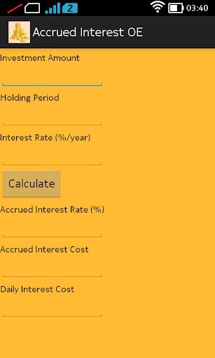 Accrued Interest OE