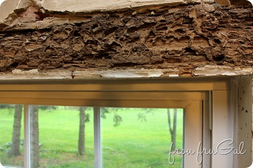 Window Lintel - Before