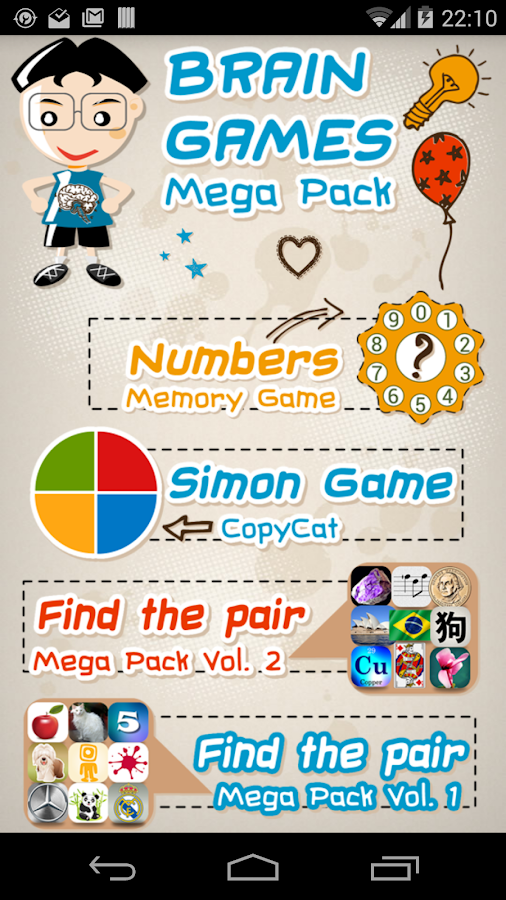 Memory Games Mega Pack HD Free- screenshot