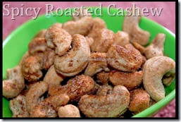 Spicy Roasted Cashew