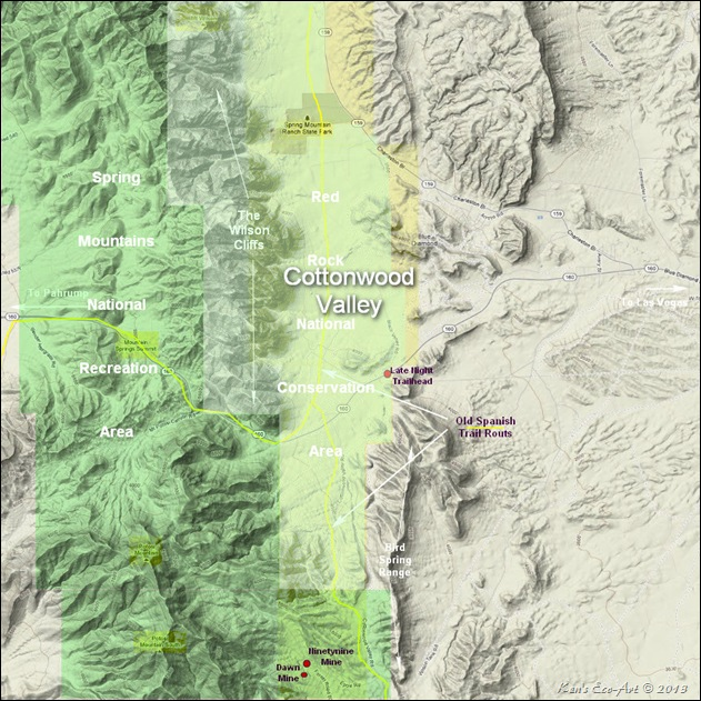 MAP-T- Cottonwood Valley with Boundaries