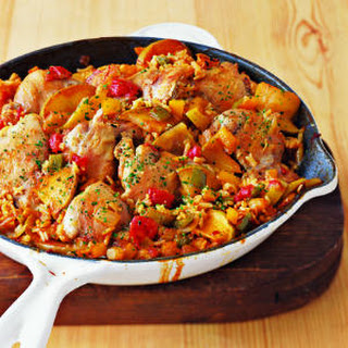 Arroz con Pollo with Apples