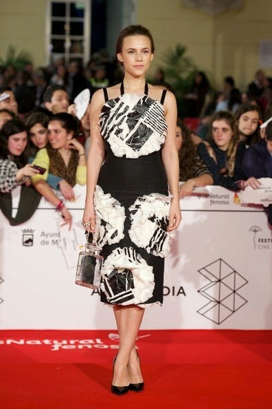 Aura Garrido attends the 17th Malaga Film Festival 2014