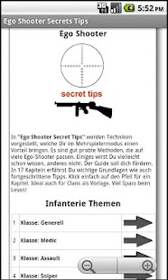 Ego Shooter Secret Tips FREE- screenshot thumbnail