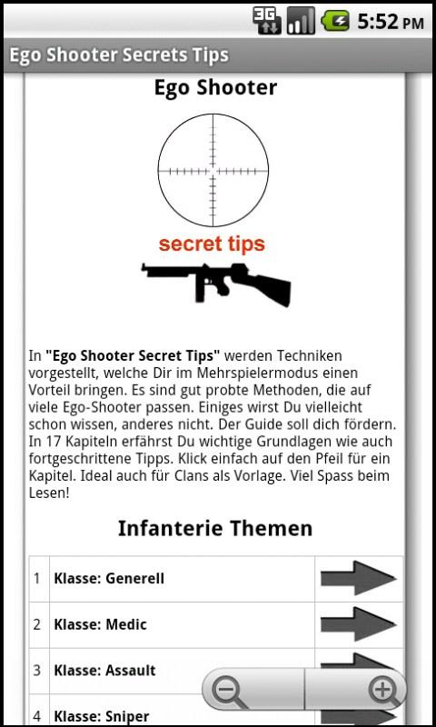 Ego Shooter Secret Tips FREE - screenshot