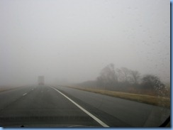 7422 Arkansas - I-40 East - fog