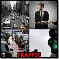 TRAFFIC- 4 Pics 1 Word Answers 3 Letters