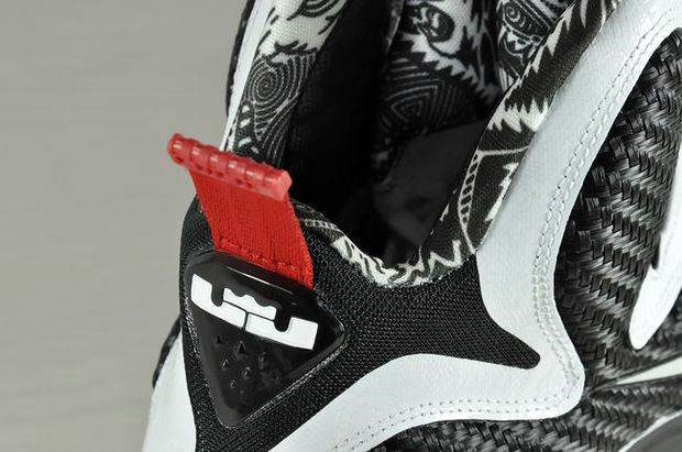 First Look Nike LeBron 9 8220Black amp White8221 aka strikeScarfacestrike  Freegums ... 3b46db97f