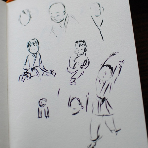 TracyBishopKarateSketch14