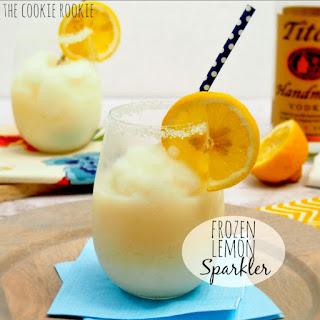 Frozen Lemon Sparklers.