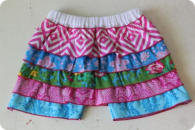 Ruffled Rumba Shorts Tutorial