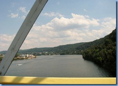3547 West Virginia - Chester, WV - Lincoln Highway - Newell Toll Bridge to East Liverpool, Ohio - Ohio River