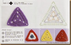 crochet triangle eighteen