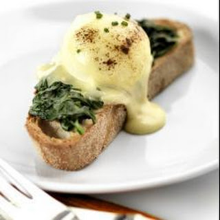 Classic eggs Florentine with a twist