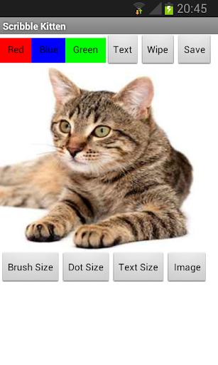 Scribble Kitten