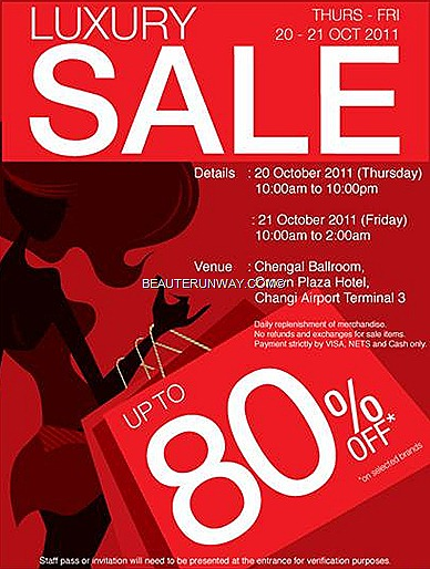 Luxury Sale Changi Airport Terminal 3