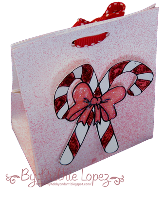Candy Cane digi Stamp - Platypus Creek Digital - Christmas Treat Box 2