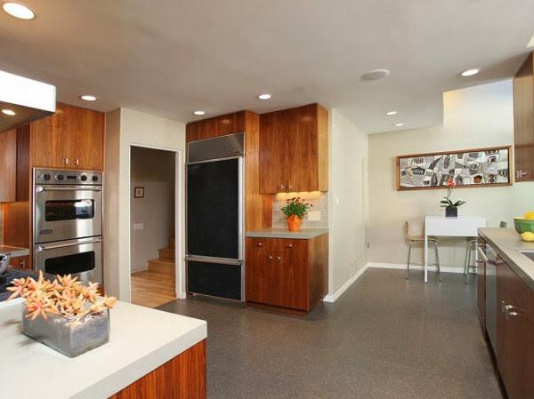 cocina-casa-dexter-Hollywood Hills Los Ángeles, Estados Unidos