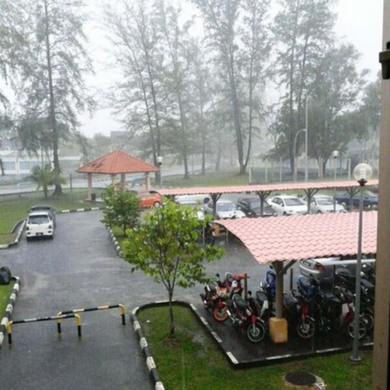 Musim Tengkujuh di Kuala Terengganu