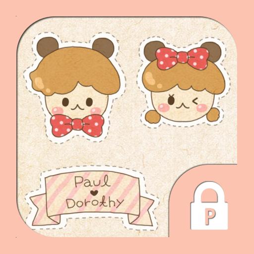 Paul & Dorothy(cutie sticker) 個人化 App LOGO-APP試玩