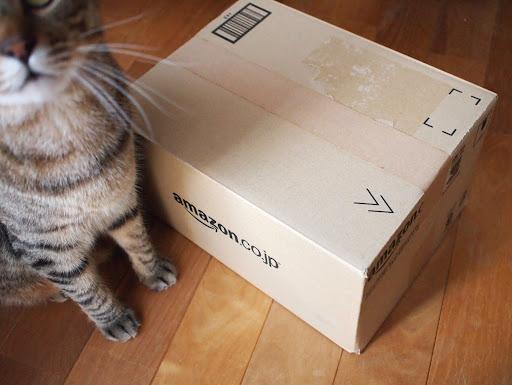 [写真]BOOKSCANへ送った箱
