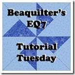 beaquiltersEQ7tutorialtuesday