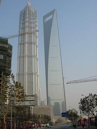 Shanghai World Financial Center et Jin Mao à Shanghai