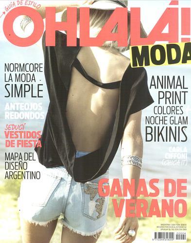 Ohlala moda septiembre 2014 lanzamiento con diario la for Diarios del espectaculo