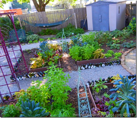 Back Yard Potager: City Says I Have To Pay To Put A Shed On My Property