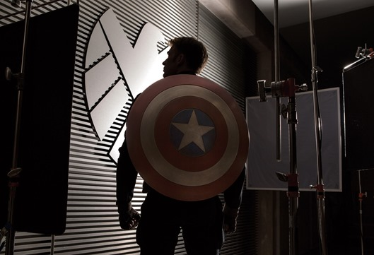 Marvel?s ?Captain America: The Winter Soldier? Commences Principal Photography In Preparation for April 4, 2014 Film Release  Chris Evans as Captain America Photo Credit: Zade Rosenthal