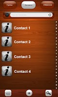 Screenshot of WOOD Theme for exDialer