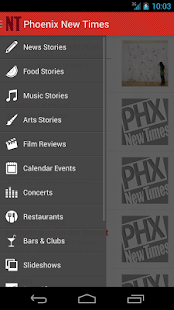 Phoenix New Times - screenshot thumbnail