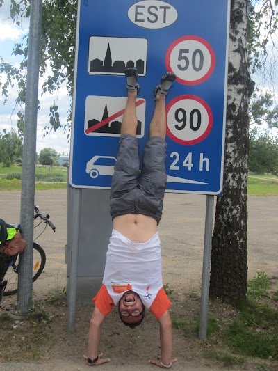 Entering Estonia!