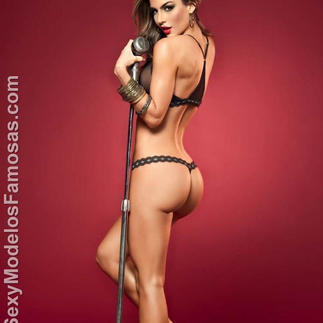 Natalia Velez Sexy Lenceria Besame Foto 76